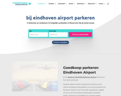 ParkerenEindhoven Airport